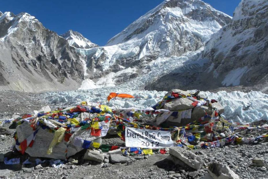 Everest Trek Map