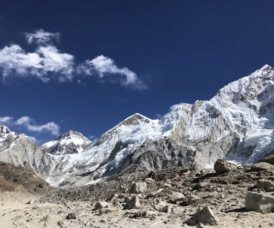 Everest trip for seniors