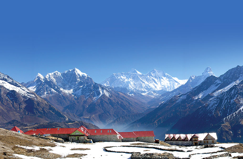 Everest trekking route