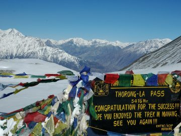 annapurna circuit - thorang pass