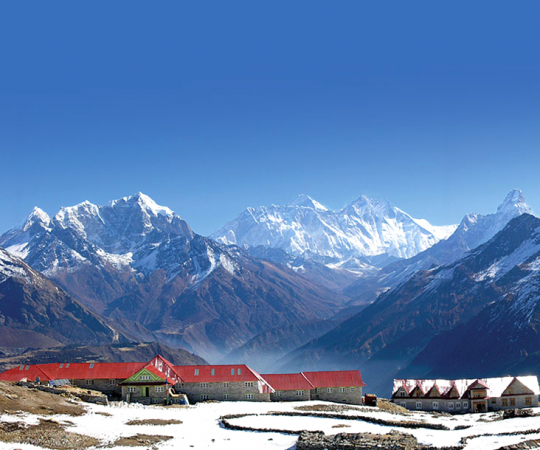 Everest trekking route