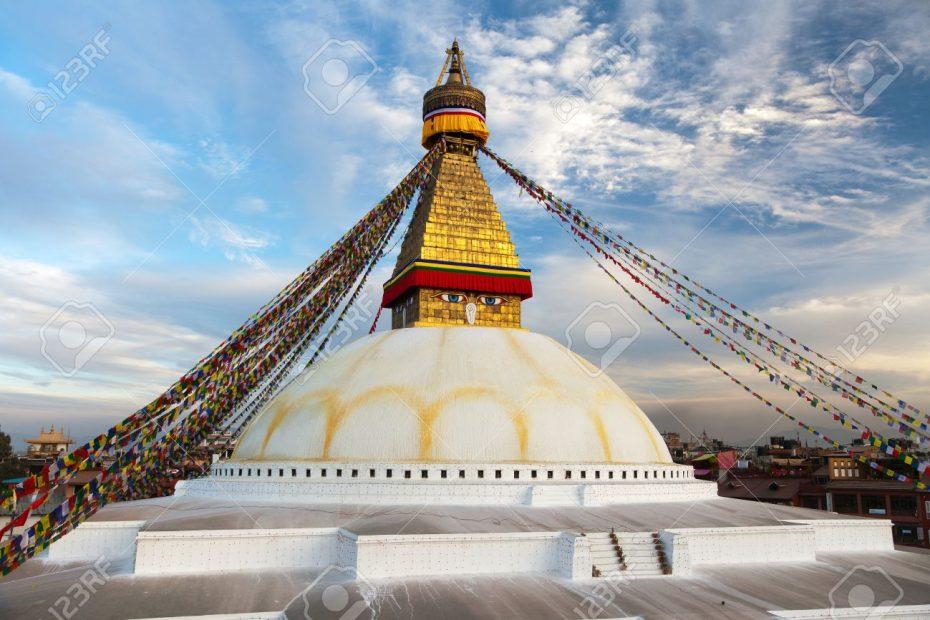 Boudhanath stupa – Kathmandu – Nepal