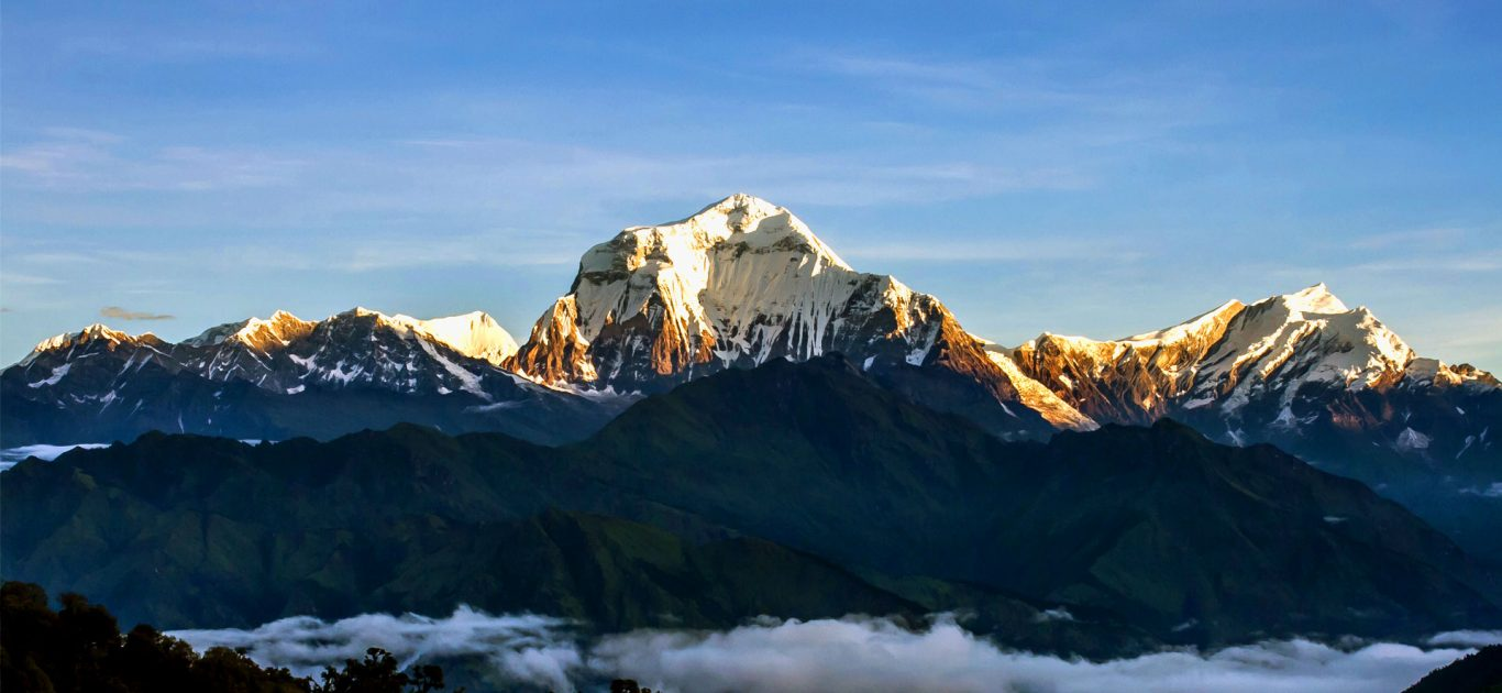 Mt Dhaulagiri from Ghorepani Poonhill